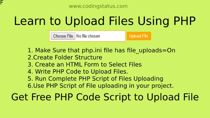 File upload in php
