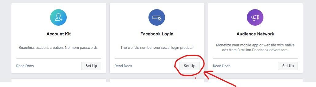 facebook app for facebook login