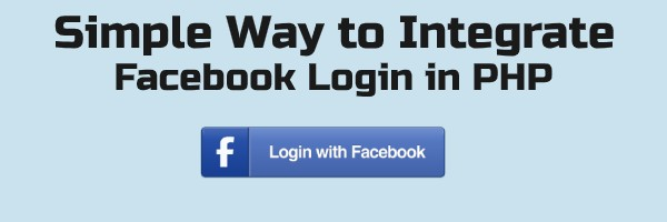 facebook login in php