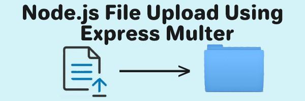 node.js file upload