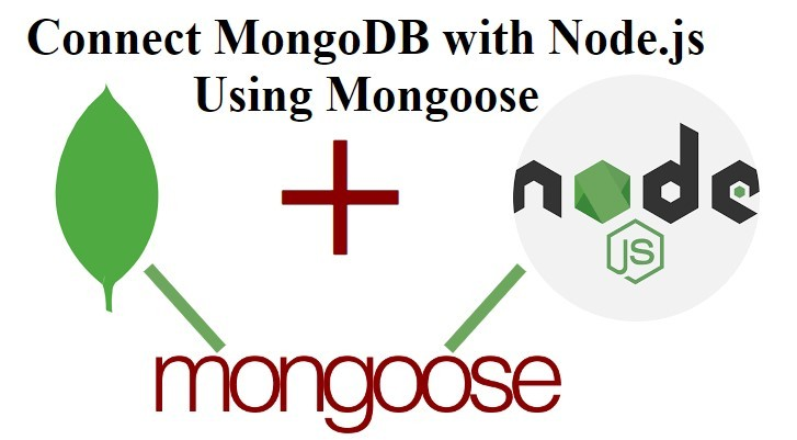 connect mongodb with node.js using mongoose
