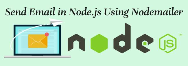 node.js send email