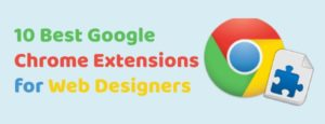 chrome extensions for web designers