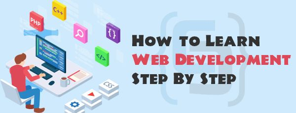 learn web development step by step