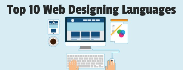 top 10 web designing languages