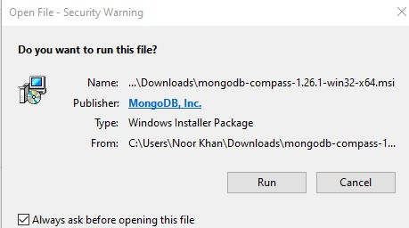 install mongodb compass part-1