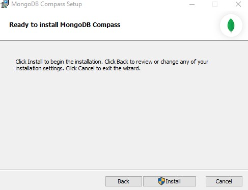 install mongodb compass part -2